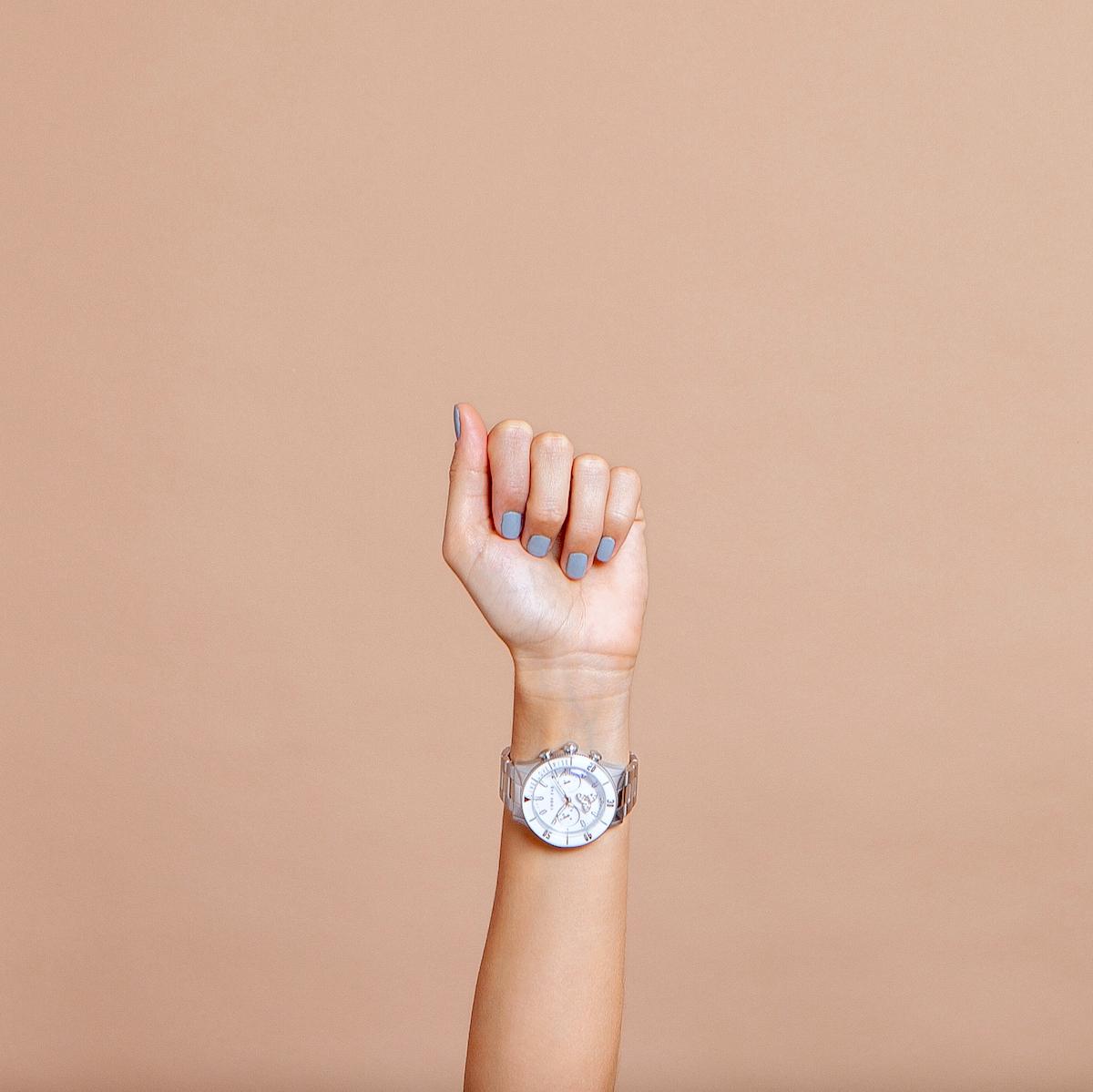 Code Eve Galya Silver watch